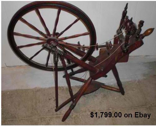 Craftsmanspace Spinning Wheel Woodworking Plans