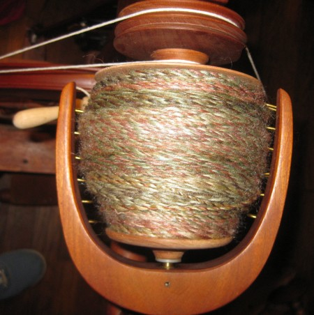 english garden roving spun