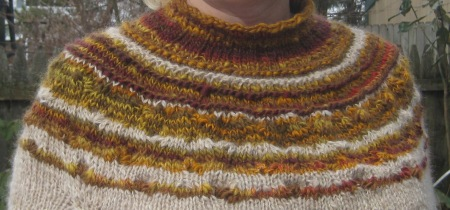 sweater yoke front