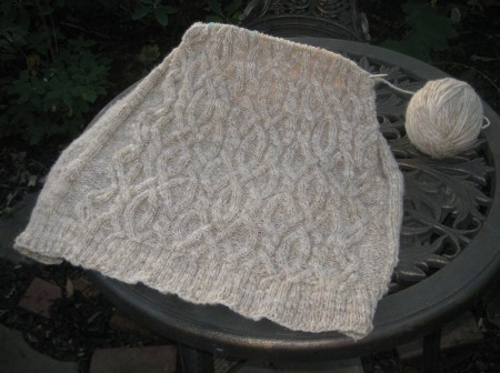 sweater cables